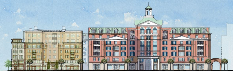Liberty Senior Living King Street rendering