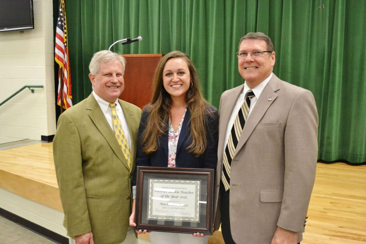 Cruce named Berkeley Rookie Teacher of the Year