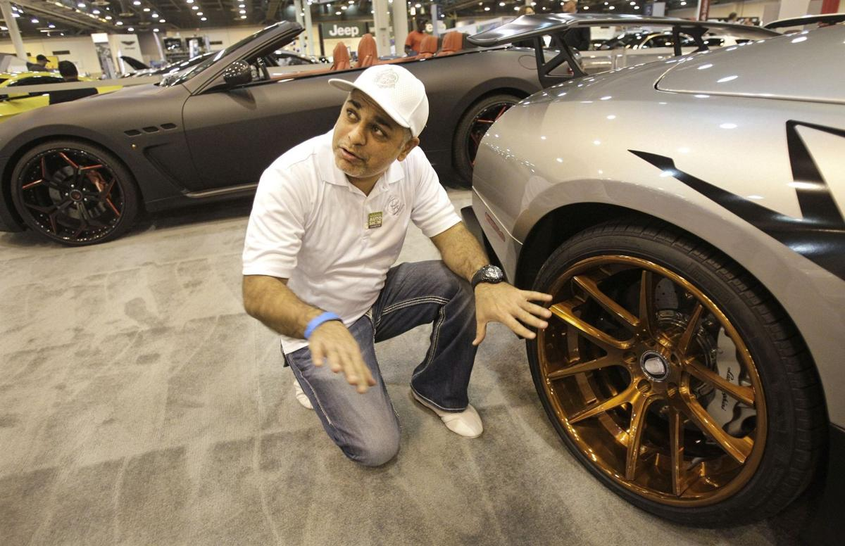 Event brings glitz, glamour of tricked out rides