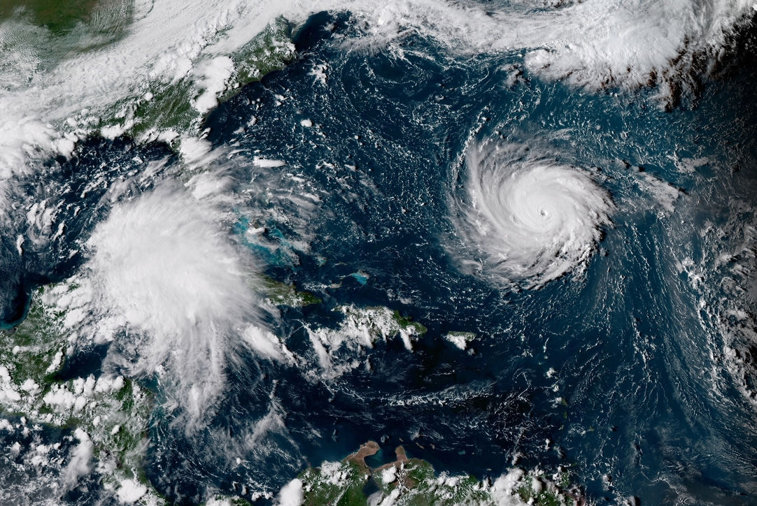 satellite image florence monday