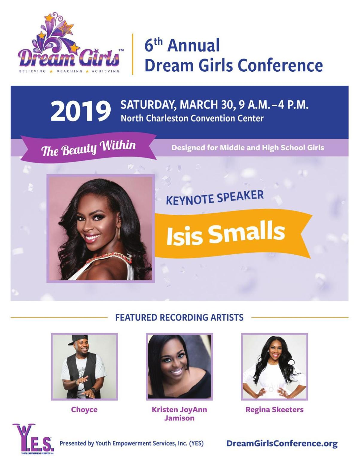 Dream Girls Conference flyer