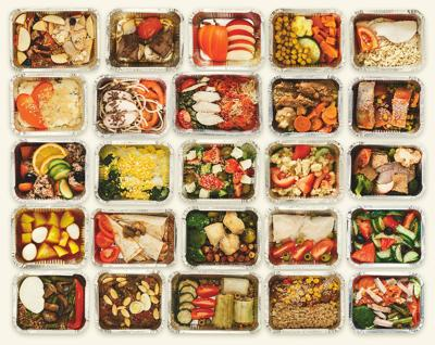 meal prep boxes
