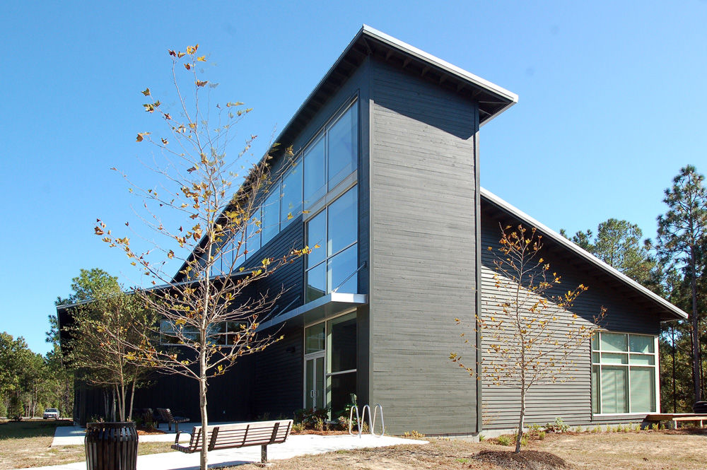 Clemson's new Coastal Ecology and Forest Science building at the Baruch Institute