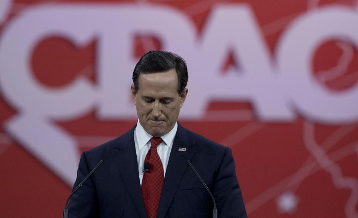 Santorum wants boots on ground to fight Islamic State group