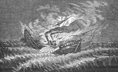 June 13, 1838 - The Sinking of the Pulaski