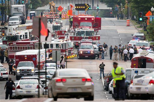 13 killed, including shooter, in Washington Navy Yard shooting rampage
