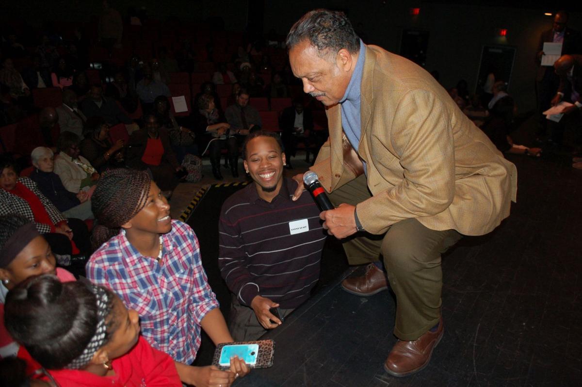 Jesse Jackson in South Carolina for voter drive
