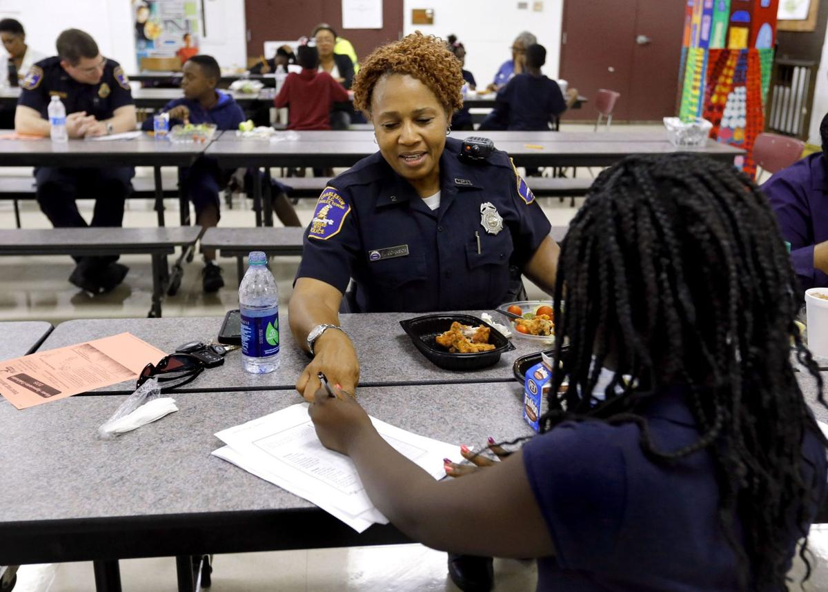 Police aim to build trust, starting with children
