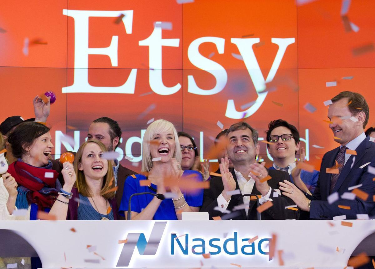 Stock of online marketplace Etsy surges in trading debut