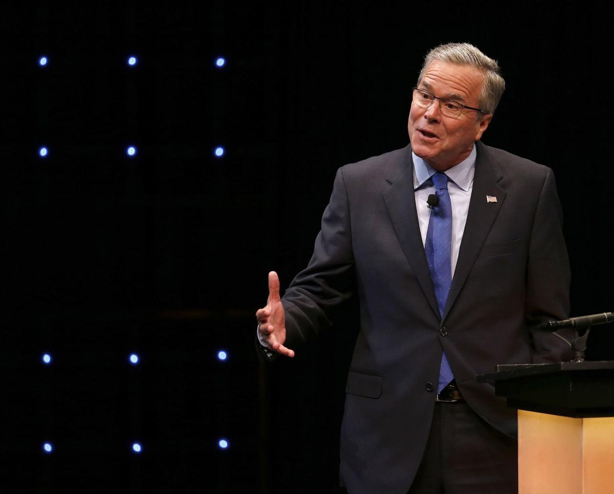 Republican Jeb Bush in Ohio speech: I'm 'my own person'