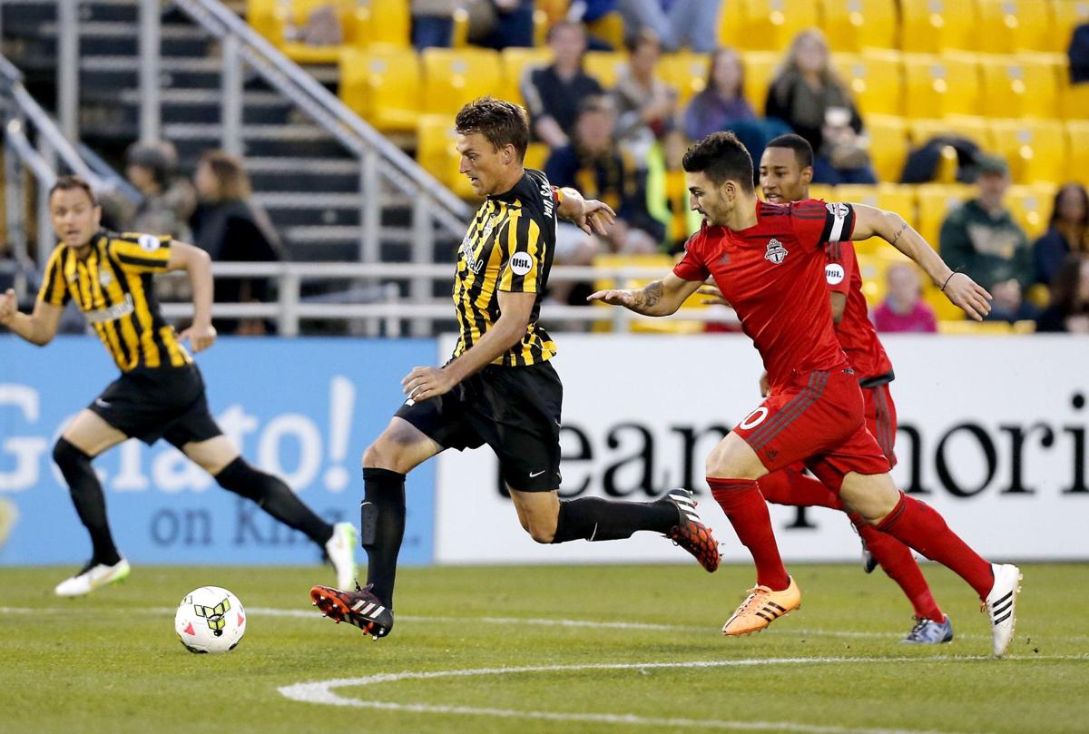 Potent Pittsburgh Riverhounds to face Charleston Battery