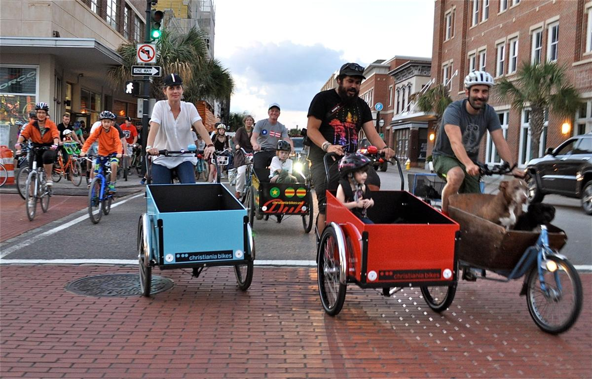 The suv of bikes cargo bikes gain ground in charleston get fit postandcourier com