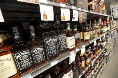 liquor bottles at store (copy)