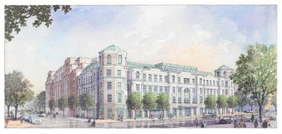 Board of Architectural Review defers final approval for Courier Square (copy)