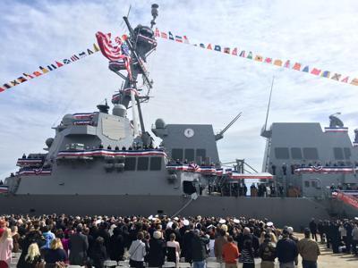 USS Ralph Johnson Commissioning
