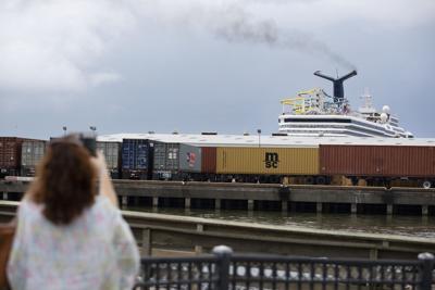 Cruise Ship exhaust.JPG