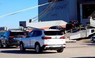 BMW exports from Port of Charleston (copy)