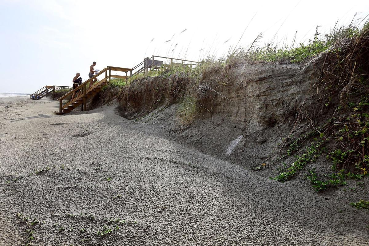 Ever-shifting beaches again in need of sand