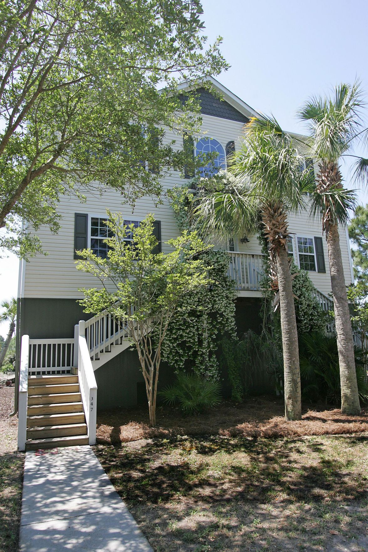 347 Shadow Race Lane - Finely appointed three-level home on Folly Beach sports marsh-front living, river views and low maintenance