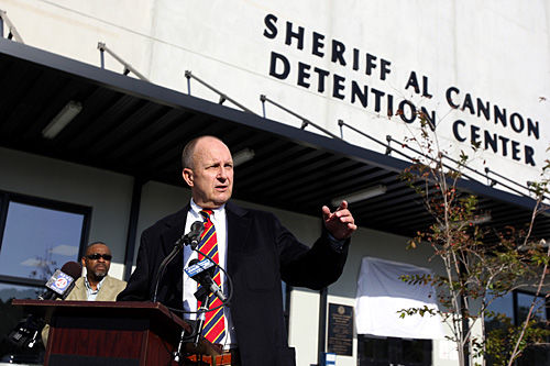 No slowing down for Sheriff Al Cannon