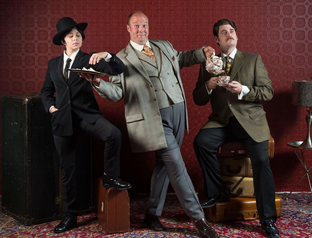 Tony Award-winning comedy 'One Man, Two Guvnors' makes its local debut this weekend