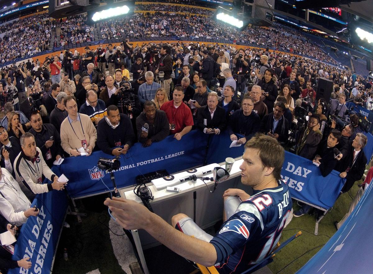 Super Bowl XLVI Media Day