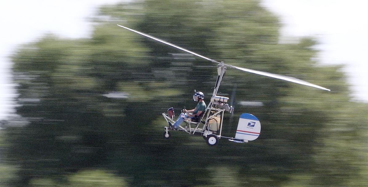 Gyrocopter man coming through South Carolina on Tuesday