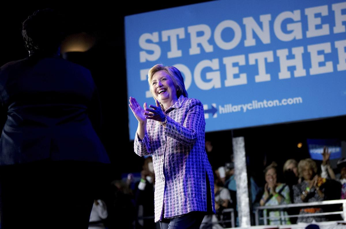 Hillary's playing with strong electoral hand