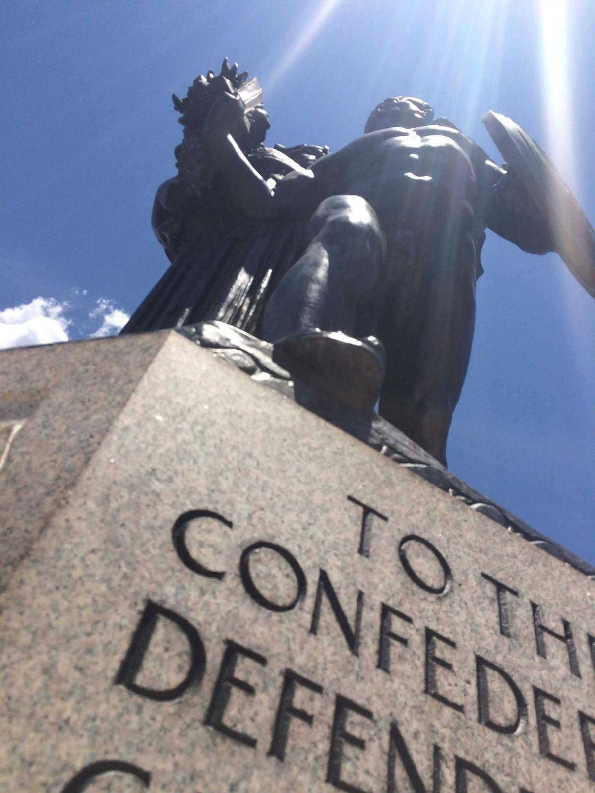 Confederate Defenders monument gets spruced up
