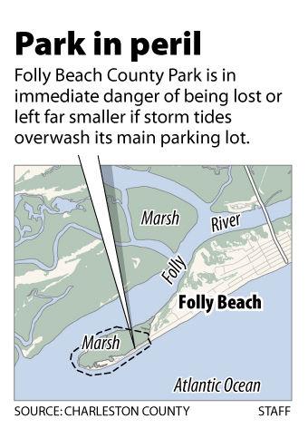 Folly Beach park could wash away