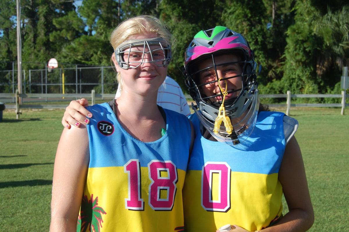 Local pair shine in girls lacrosse