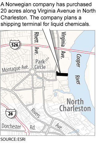 Norway firm buys Cooper River site