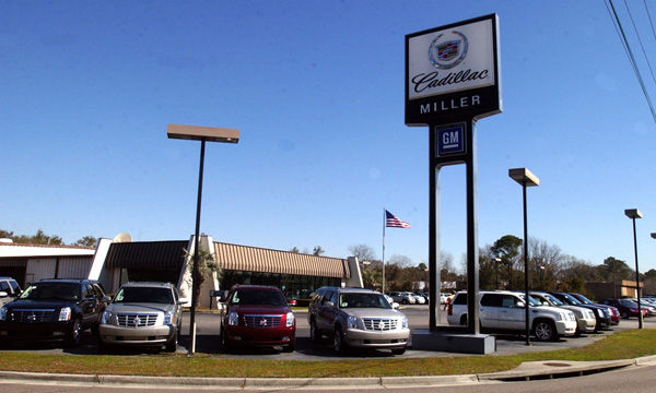 Cadillac drives into Baker Motor's lot