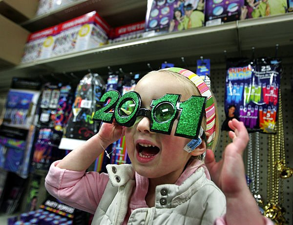 New year themes and places to say farewell to 2010 and hello to 2011