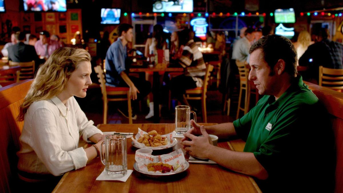 Drew Barrymore and chemistry can't save Sandler's 'Blended'