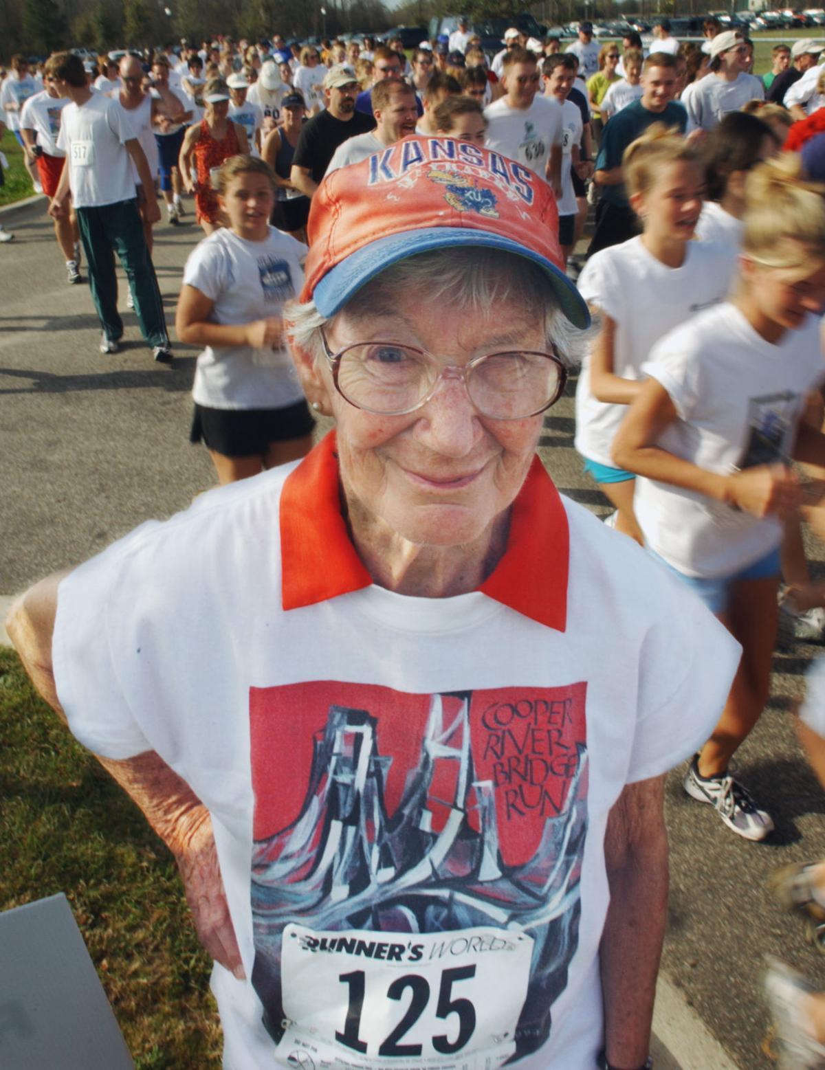 Local running legend, Bridge Run Hall of Famer Margaret Wright dies at age 94