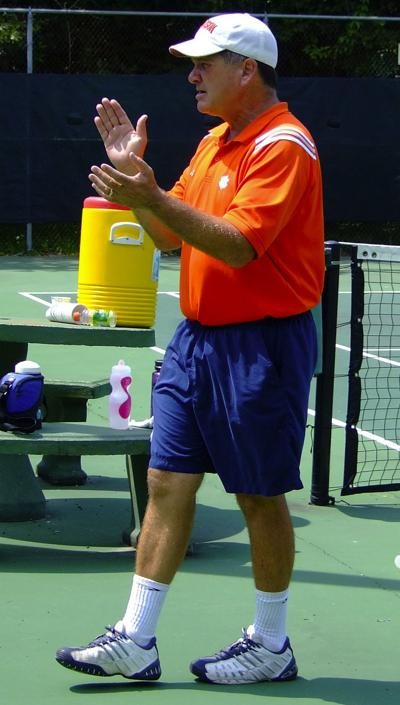 Citadel hires ex-Clemson tennis coach Chuck Kriese