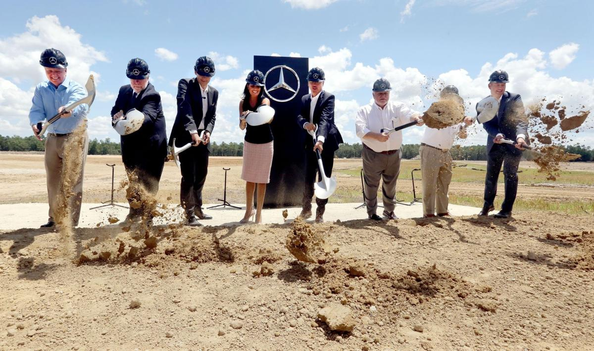 Mercedes-Benz groundbreaking highlights Lowcountry's fast-growing auto sector