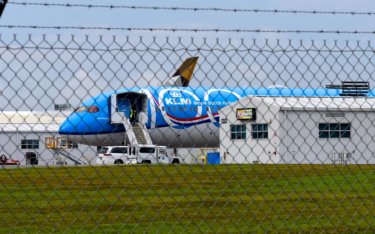 KLM 100th anniversary livery