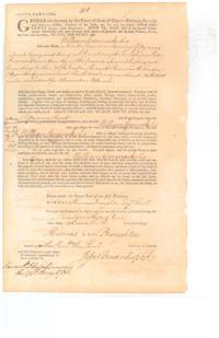 William Cormack 1735 grant