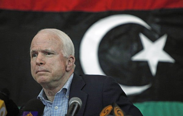 McCain calls for increased support for Libyan rebels