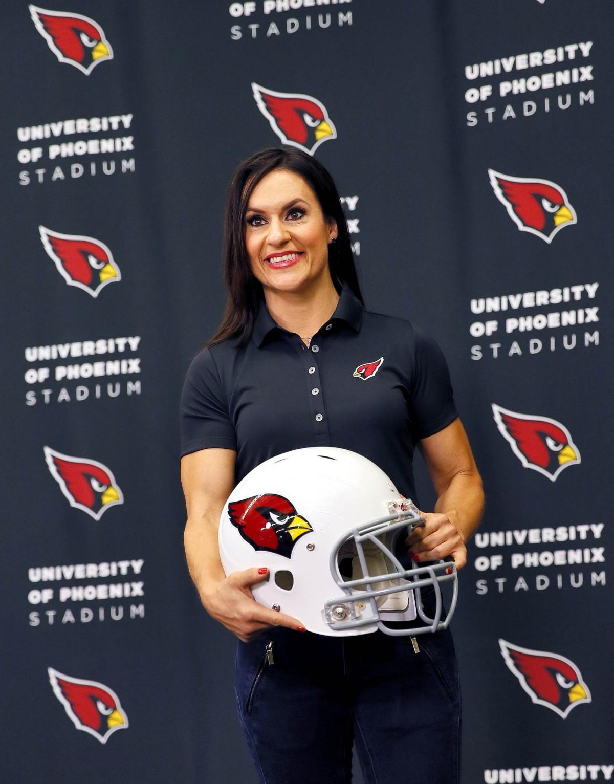 'Dr Jen' embraces chance for Arizona Cardinals coaching internship