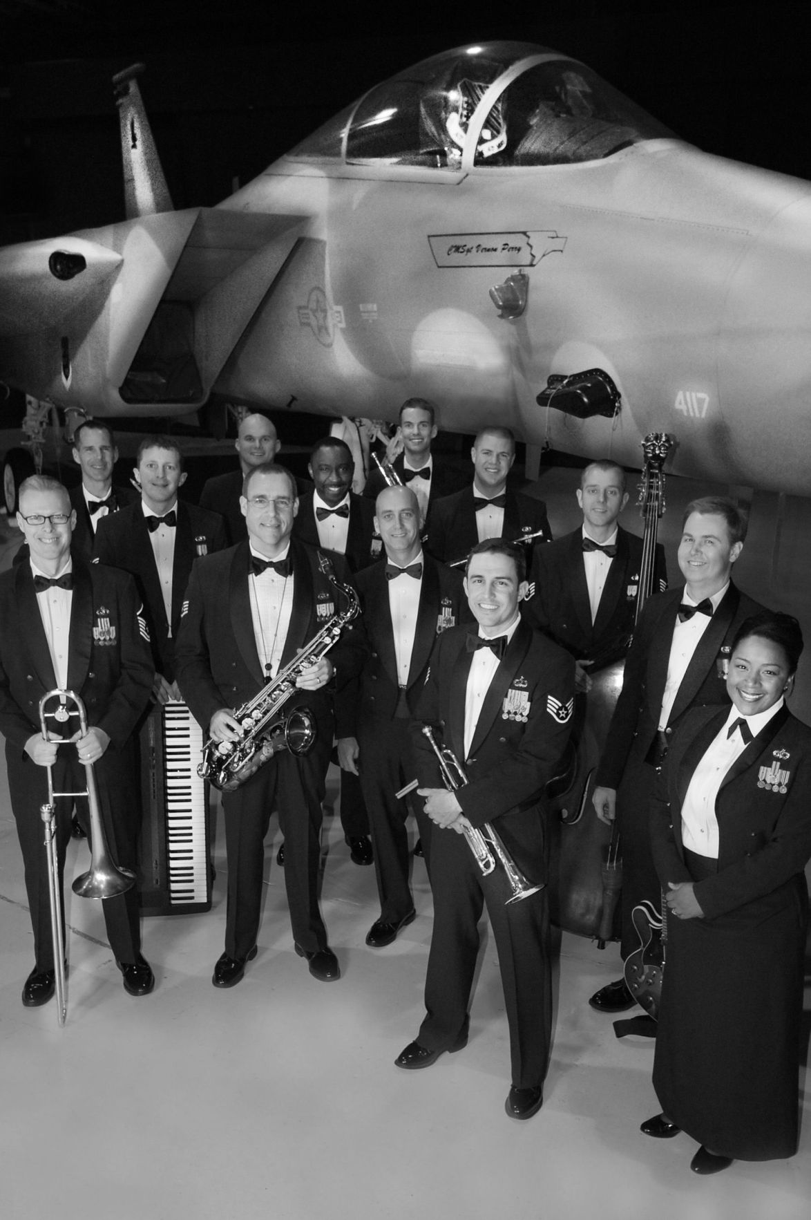 Air Force jazz band to hold concert Feb. 9 event free at Sterett Hall