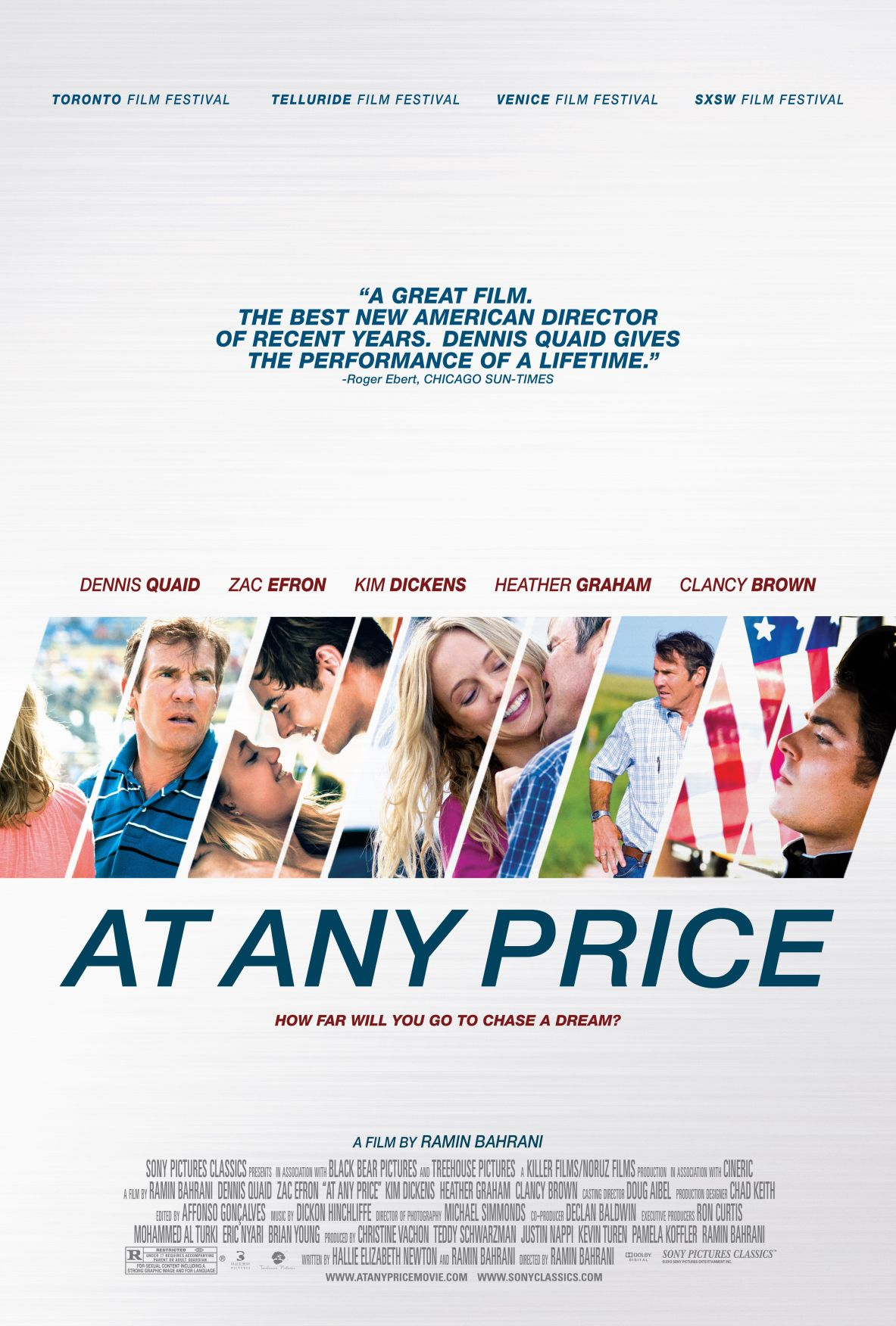 'At Any Price' offers a world with point, passion