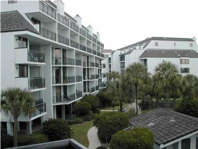 7600 208-B Palmetto Blvd. — Furnished Wild Dunes condo for rent boasts views of ocean, saltwater pool