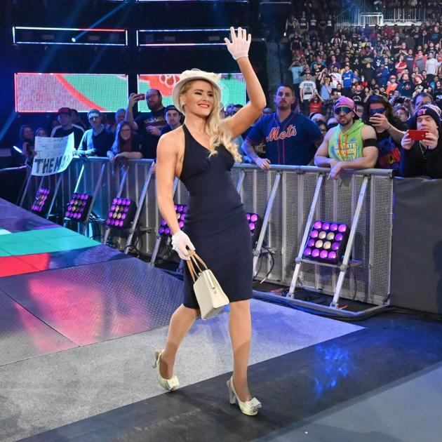 Sassy Southern belle Lacey Evans sashays her way into WWE ...
