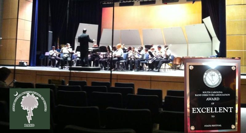 Zucker Middle School Band rated 'excellent' at state concert festival