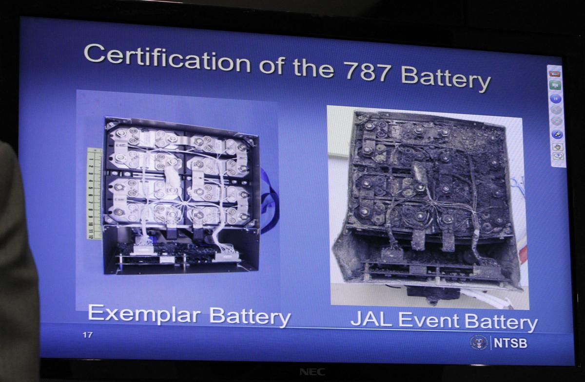 NTSB to issues interim report on Boeing 787 battery fire