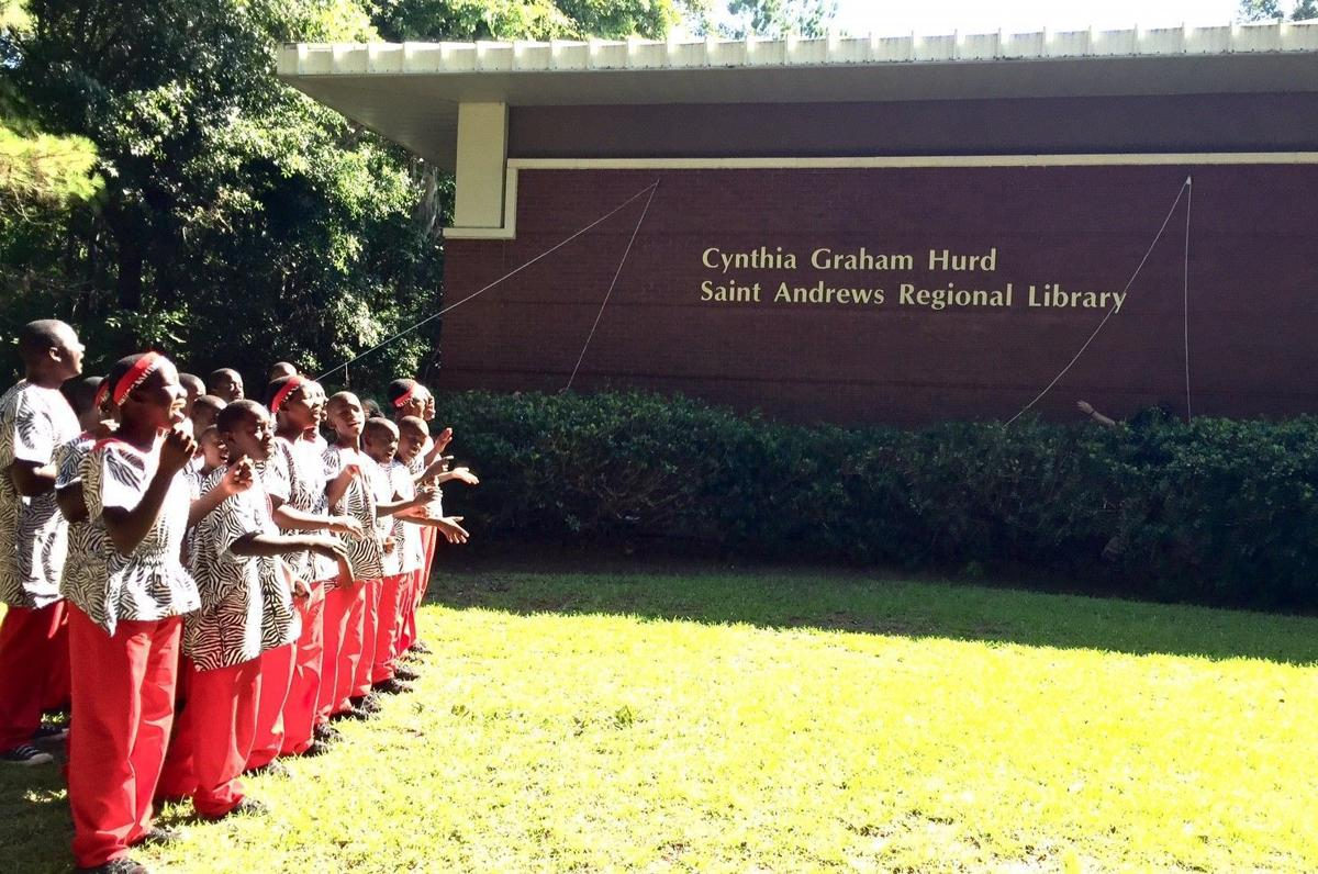 St. Andrews library is now the Cynthia Graham Hurd library (copy)