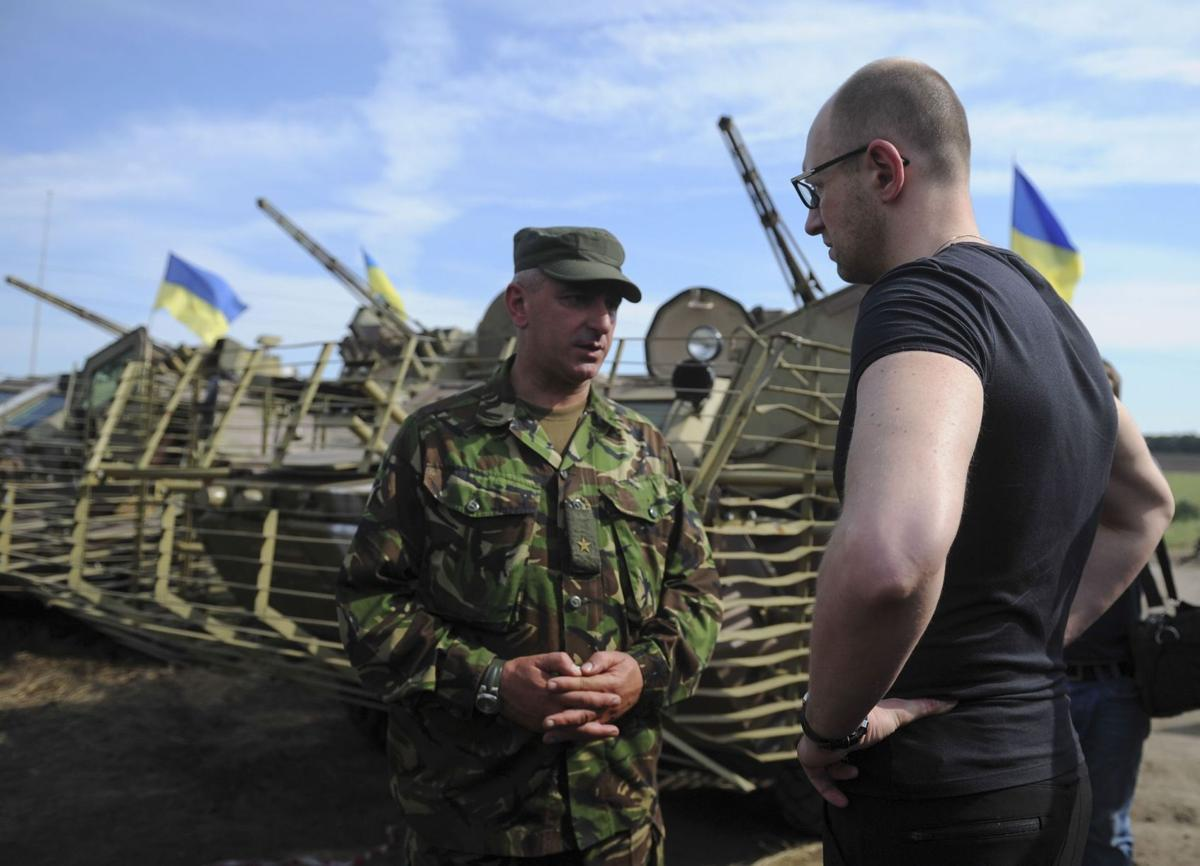 Ukraine: Air Force jet downed by Russian missile